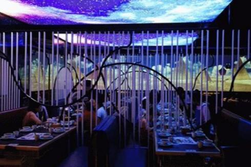 听画意境智慧餐厅