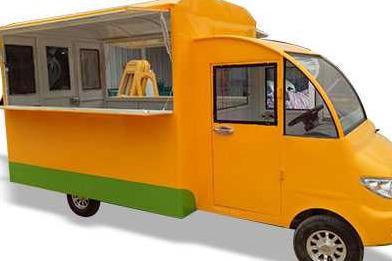 小吃车在哪买 选择一路飘香小吃车