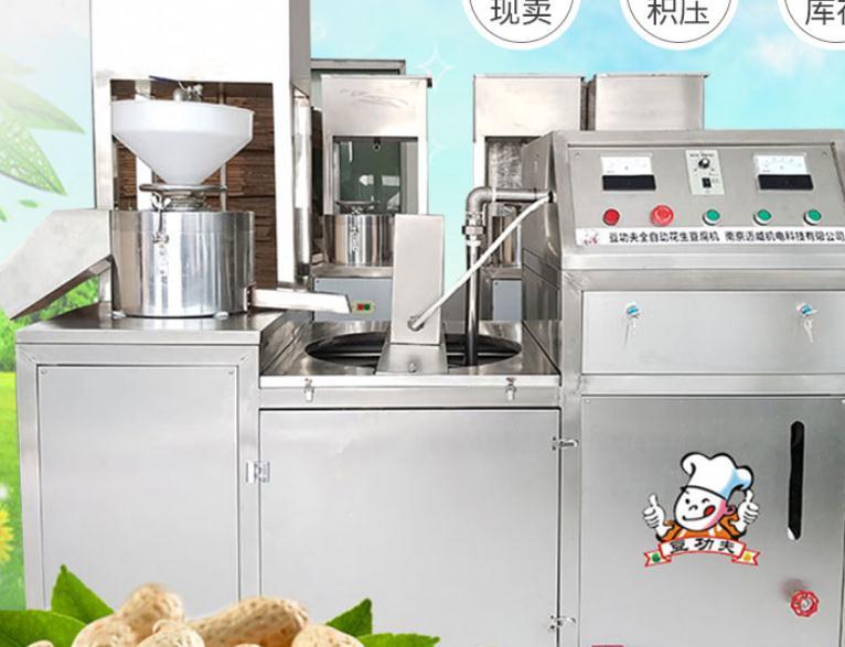 豆功夫花生豆腐机加盟