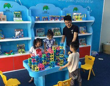迪吉象益智玩具体验馆生意好吗