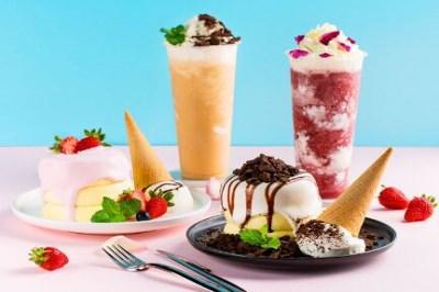开一个冰淇淋档口店铺大概需要多少*