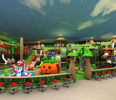 开一家淘嘻乐儿童乐园店**吗