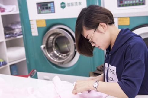 在小县城开家UCC**洗衣怎样
