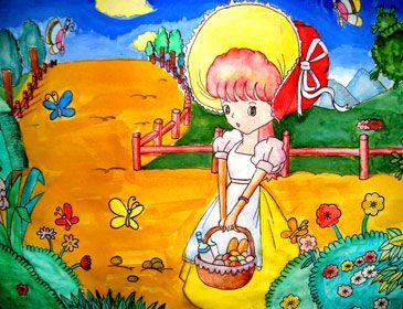 关于六一儿童节的画