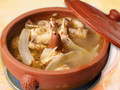 汽锅鸡是云南独有的高级风味菜