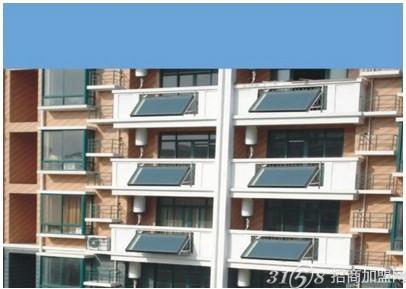 阳台太阳能热水器主要安装在阳台上