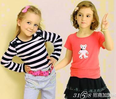 俏可儿童装专卖店 点缀时尚童年美好时光