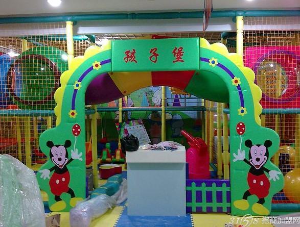 室内儿童乐园利润大赚钱快