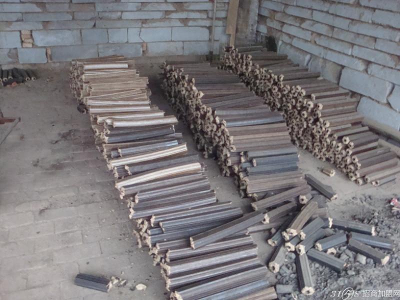 首特金旺秸秆新型木炭机