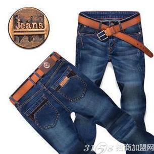 杰克狼人牛仔裤