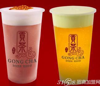 打造出了宫悦珍珠奶盖茶,抹茶珍珠奶盖贡茶,红茶奶盖贡茶等系列,产品