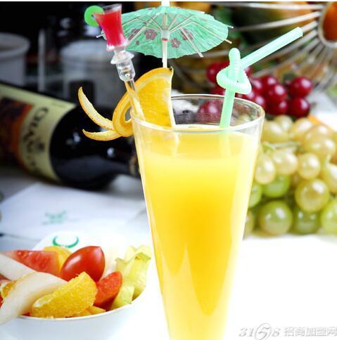 鲜榨果汁加盟店排行榜