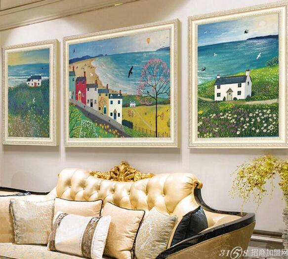 室内装饰画的市场行情
