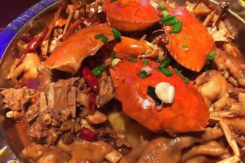霸道的泰晤士河螃蟹在此瑟瑟发抖——巴比酷肉蟹煲