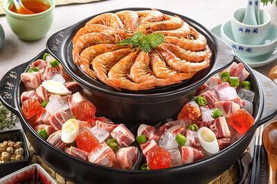 漢軒閣冰煮三鮮*鍋