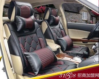 汽车坐垫安装有智能温控设备,兼具按摩的功效,采用高科技环保高清图片