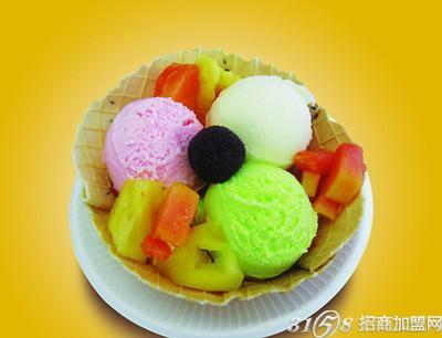 冰激凌一家简笔画-开一家皇家冰团冰淇淋怎么样