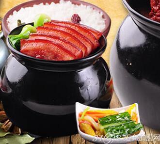 古色传香瓦罐快餐