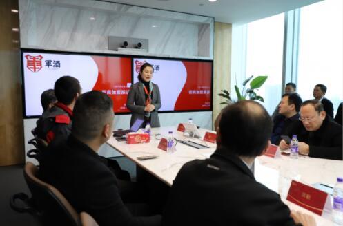 退役军人创业导师、上海军酒有限公司总裁刘晓枫