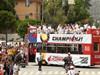 迈阿密热火的总冠军游行仪式 数万球迷热情加入