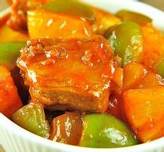 吃肉不用怕油腻 教你清爽菠萝烧骨排的做法