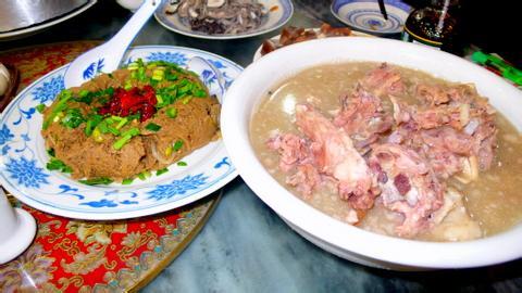 老少皆宜四季均享做法蝎子白煮羊食谱黑米-舌紫米可与京菜一起煮吗图片