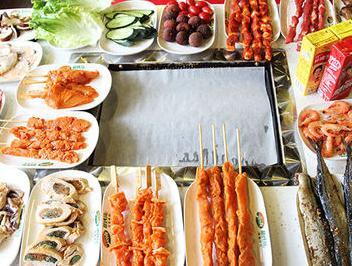 金汉亭韩式自助烧烤加盟图片
