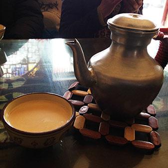 藏族酥油茶恰苏玛
