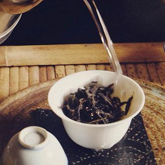 武夷山摆茶