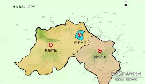 龙井茶产区在西湖吗 龙井茶不都是西湖龙井图片