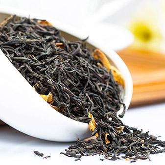 继茉莉花茶之后的新工艺花茶 栀子花红茶