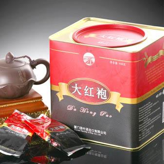 海堤大红袍传统听装精品 双重包装不担心茶叶受潮