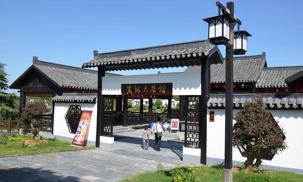 5.黄龙岘村内主要生产黄龙岘茶叶,得天独厚的地理环境使得黄龙岘茶叶茶香四溢,口味醇厚。同时黄龙岘的茶风情文化也十分的浓厚,可以带上家人一起来黄龙大茶馆品茶。
