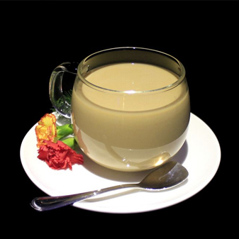 味蕾的奇妙体验 果汁与奶茶的组合