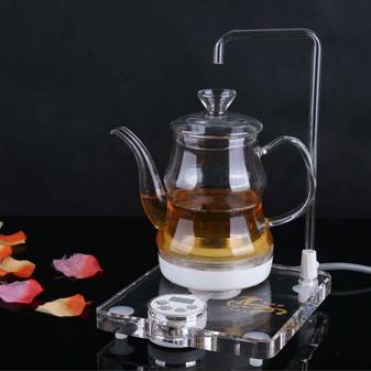 爱喝茶的你 来一把文艺的玻璃茶壶吧