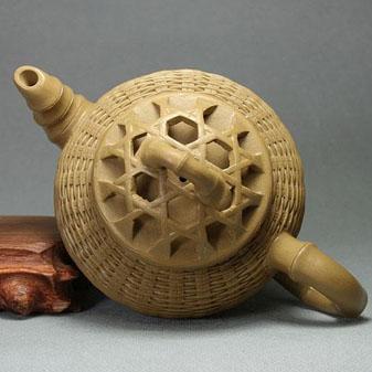 流行于民间的竹木茶具和竹编茶具